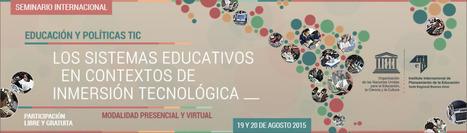 Seminario Internacional: Los sistemas educativos en contextos de inmersión tecnológica   Las TIC en el aprendizaje.   Scoop.it