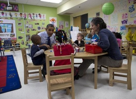 Obama pushes preschool plan, won't discuss cost | Community Village Daily | Scoop.it