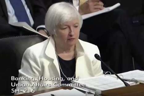 Yellen's Senate Hearing: Fed's Forecasting Has Lost All Credibility | Breaking News from S.E.R.C.E | Scoop.it
