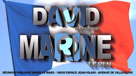 Réunion publique de David Rachline en présence de Marine Le ...   FN Fréjus+Béziers   Scoop.it