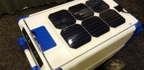 Cooler à energia solar para manter cerveja geladinha   Livros Redes & Teias   Scoop.it