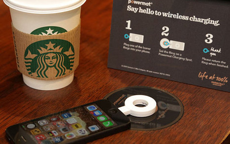 Starbucks launches wireless charging in UK Shops | Scoop.it Sysico | Scoop.it