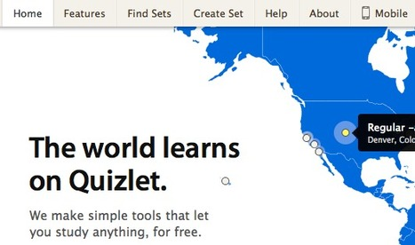 Quizlet | L2 Vocabulary Teaching & Learning | Scoop.it