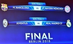 CL semi-finals: Barcelona v Bayern Munich and Juventus v Real Madrid - The Guardian | AC Affairs | Scoop.it