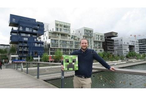 Lyon sur Minecraft : aujourd'hui la Presqu'île est terminée | Innovation @ Lyon | Scoop.it