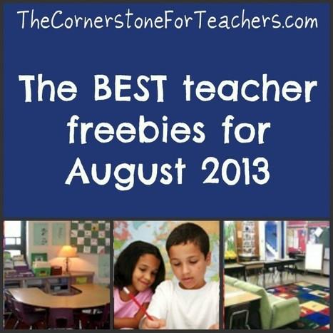 best teacher freebies - The Cornerstone   digital networking   Scoop.it