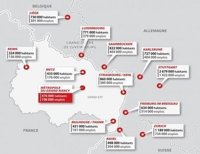 Nancy devient métropole plus tôt que prévu - Collectivités territoriales | Actualité du centre de documentation de l'AGURAM | Scoop.it