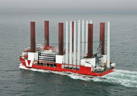 Belgium: Vroon and MPI Vessels Working on Northwind Project >> Offshore Wind | Belgian offshore wind energy news | Scoop.it