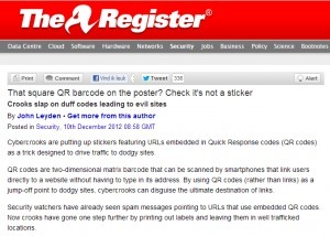 Check die QR-code voordat je hem scant! | Mediawijsheid in het VO | Scoop.it