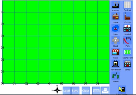 TeacherLED Interactive Whiteboard Resource Map Maker   Geographical Terminology Stage 2 (Cardinal Directions)   Scoop.it