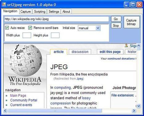 URL2JPEG, control total para tomar screenshots de sitios web | Recull diari | Scoop.it