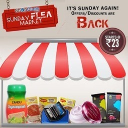 Shopclues Sunday Flea Market Deals 09 March, 2014 | SaveMoneyIndia | Best Online Deal Website India. | Scoop.it