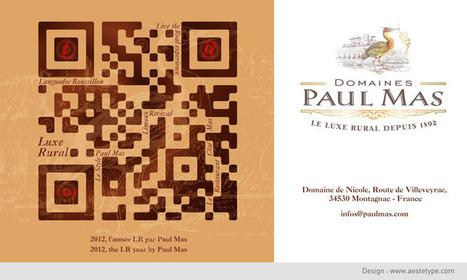 LR code, les Domaines Paul Mas vous invitent au Luxe Rural | Tag 2D & Vins | Scoop.it