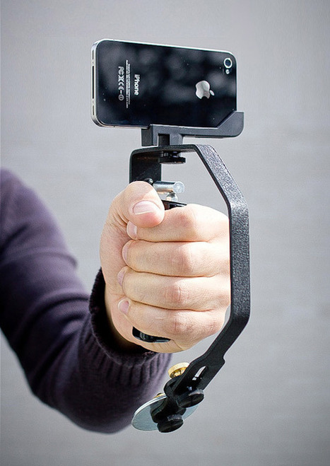 Picosteady A SteadyCam For your iPhone | All Geeks | Scoop.it