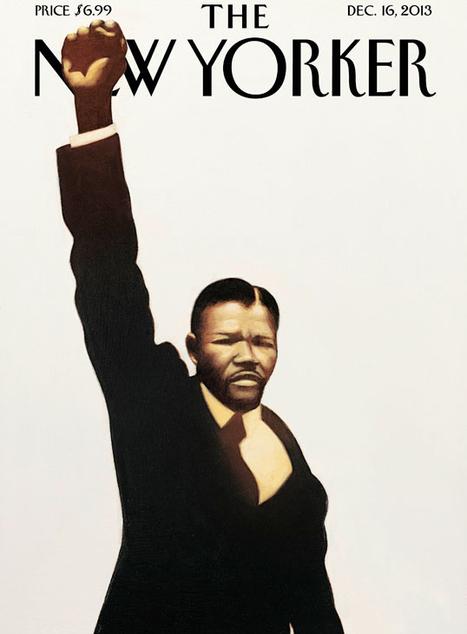 New Yorker Cover: Nelson Mandela, Hero | Nelson Mandela 1918 - 2013 | Scoop.it