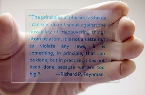 Chemists Fabricate Novel Rewritable Paper Using Color Switching Redox Dyes | Amazing Science | Scoop.it