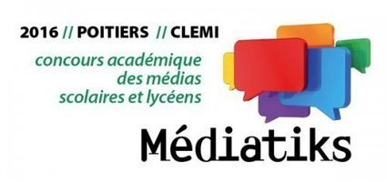 CLEMI - Concours Médiatiks 2016 : le palmarès | Chatellerault, secouez-moi, secouez-moi! | Scoop.it