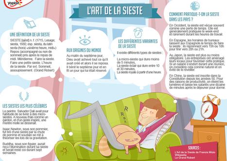Pratiquez-vous la sieste ? | En français, au jour le jour | Scoop.it