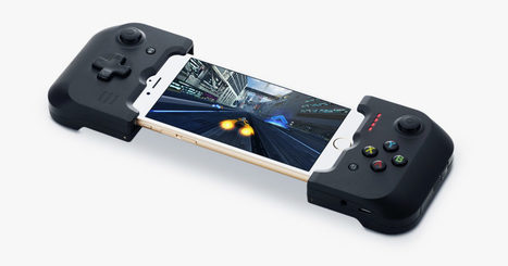 Gamevice Makes Your iPhone a Portable Gaming Powerhouse | Edtech PK-12 | Scoop.it