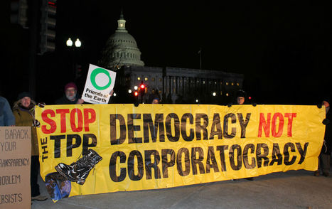 The #TPP Prioritizes the 'Rights' of Corporations Over Workers, the #Environment, and Democracy | The Nation | Messenger for mother Earth | Scoop.it