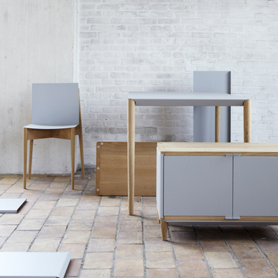 Flat-pack furniture assembled with magnets by Benjamin Vermeulen | Furniture & Habitat news | Scoop.it