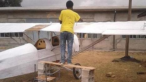 Self-Taught Ethiopian Aviation Enthusiast Builds His Own Airplane | Strange days indeed... | Scoop.it