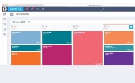 timeneye, excelente forma de registrar el tiempo invertido en proyectos | PLE-PLN | Scoop.it