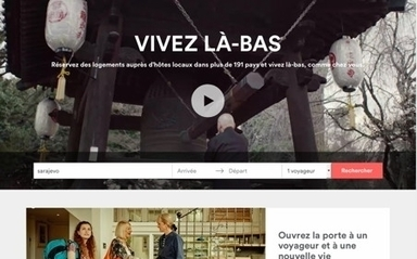 Airbnb rejoint l'Organisation mondiale du tourisme | web@home    web-academy | Scoop.it