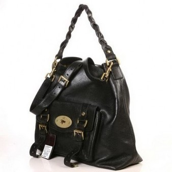 Attractive Mulberry Hobo Statchel Bag Natural Leather Black sale | Discount Mulberry Bags Outlet | Scoop.it