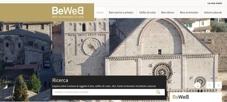 BeWeB - Beni ecclesiatici in web | Généal'italie | Scoop.it