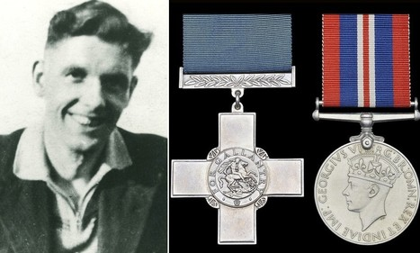 The real Danger UXB: George Cross awarded to bomb disposal novice killed when his commander accidentally triggered explosion during Blitz sells for £74,000 | British Genealogy | Scoop.it