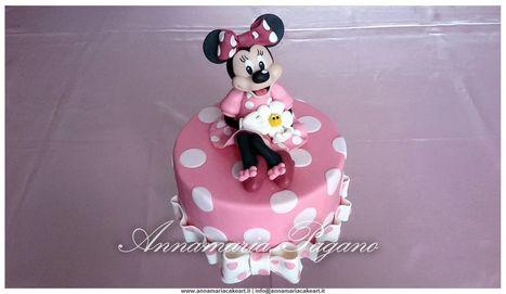 Cake Topper Minnie Mouse in rosa!   Cake Design e Decorazioni Torte   Scoop.it