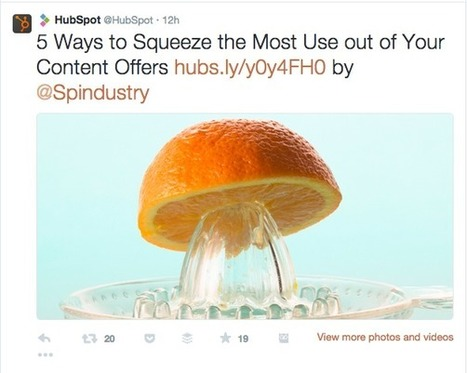 6 Social Media Lessons from the Best Brands in Content | Content Creation, Curation, Management | Scoop.it