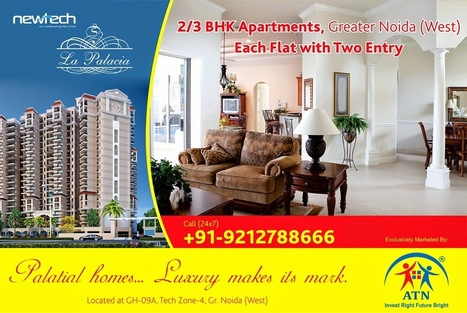 Property in Noida Extension, Amrapali Residentail Projects in Noida NCR: Book Your Private Haven in Newtech La Palacia Noida Extension | Book Your Private Haven in Newtech La Palacia Noida Extension | Scoop.it