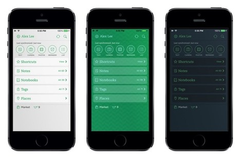 Evernote for iOS Updated With New Customization Options, Speed ... | YourMacShow | Scoop.it