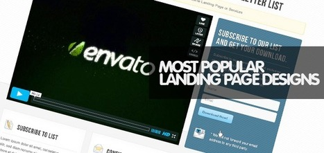 30 Most Popular Landing Page Templates for Your Businesses - Weblees | Magento | Scoop.it