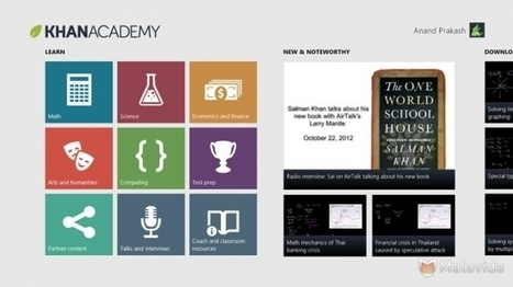 Khan Academy | médiathèques | Scoop.it
