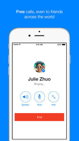 Facebook Messenger Accounts For 10% Of Global VOIP Calls, Sends 45B Messages Daily | MarketingHits | Scoop.it