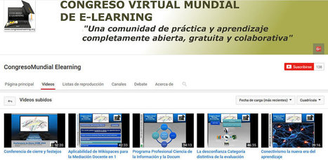 Congreso Virtual Mundial de e-Learning | Estrategias educativas innovadoras | Scoop.it