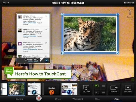 Create Interactive Video Presentations with the Touchcast iPad app | Relevant learning | Scoop.it