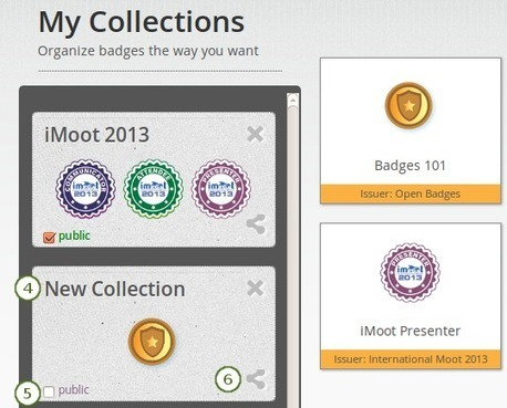 13.1. Open Badges — Mahara 1.7 user manual | e-Assessment in Further and Higher Education | Scoop.it