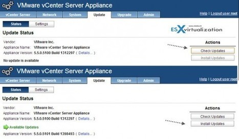 VMware vCenter Server 5.5.0a update available | End User Computing | Scoop.it