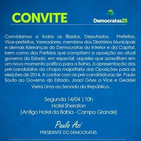 Democratas convida | Democratas Bahia | MÚSICA | Scoop.it
