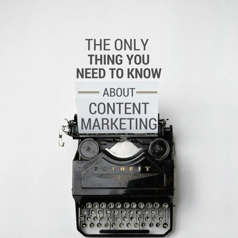 The Only Thing You Need to Know About Content Marketing Strategy | 21st_Century Good: Social and Content | Scoop.it