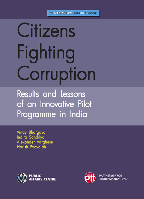 Citizens Fighting Corruption: Results and Lessons of an Innovative Pilot Program in India | Global Corruption | Scoop.it