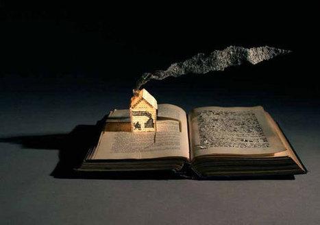 Τρισδιάστατα έργα τέχνης σε σελίδες βιβλίων | Book's Leader | Scoop.it