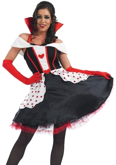 Ladies Queen Of Hearts Fancy Dress Costume | Fancy Dress Ideas | Scoop.it