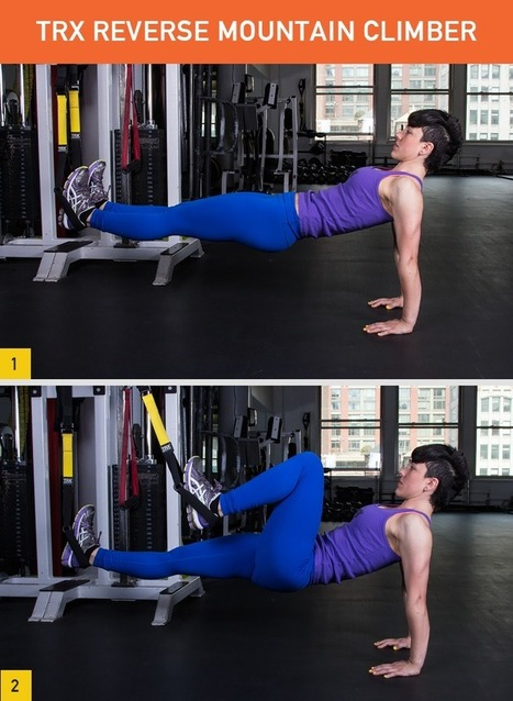 45 Insanely Effective TRX Exercises | A Stronger Life Through Pilates and Yoga | Scoop.it