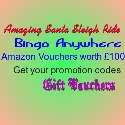 Win Amazing Santa Sleigh Ride and Gift Vouchers at Bingo Anywhere | Free Slots Online | Scoop.it