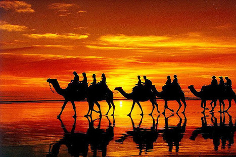 Cable Beach sunset | Flickr: partage de photos! | brazilianspirit | Scoop.it